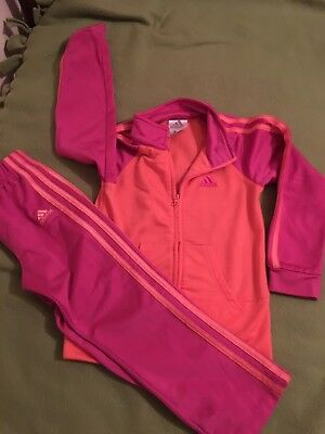Girls Athletic Suit From Adidas Sz 4T