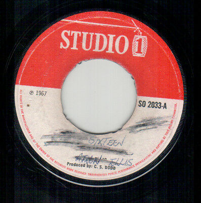 Heptones - Only Sixteen - Studio 1 UK Rocksteady Single