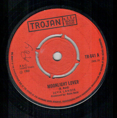 Joya Landis - Moonlight Lover  - Trojan UK Reggae Single