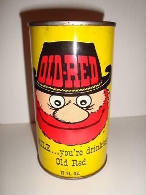Old-Red - Pull Top 12oz. - Rare Vintage Soda Pop Soda Can