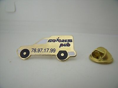 RARE Pin's Pins Pin Badge MAJORETTE PUB MAJOPUB RENAULT EXPRESS  TOP !!!