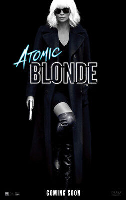 ATOMIC BLONDE MOVIE POSTER 2 Sided ORIGINAL Advance 27x40 CHARLIZE THERON