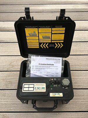 C Scope Genny For Cable Avoidance Tool / Cat Detector / Calibrated With Certs