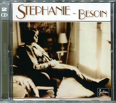 Stephanie - Besoin (Ouragan / Flash / Live Your Life) - Reissue 2018 2 Cd Neuf