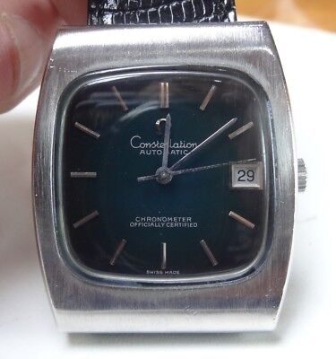 78) Omega Constellation COSC automatique vintage, calibre Omega 1001 20 rubis