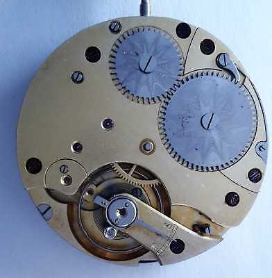 Taschenuhrwerk 3, System Glashütte, pocket watch movement