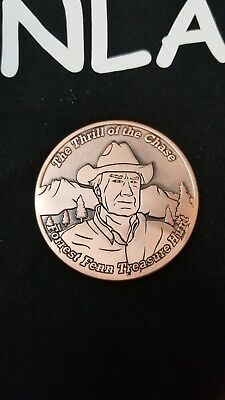 Forrest Fenn limited edition coin #004 out of 1000.