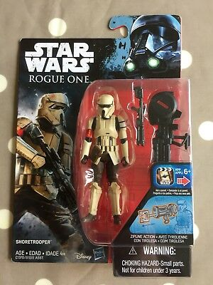 "Star Wars Rogue One SHORETROOPER Collectable Figure 3.75"" New"
