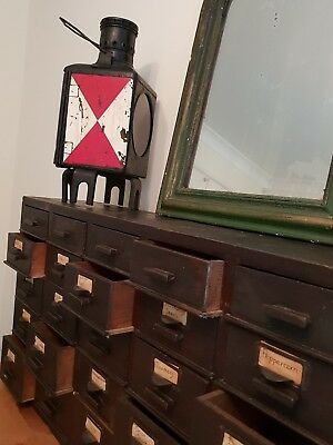 Vintage apothecary drawers