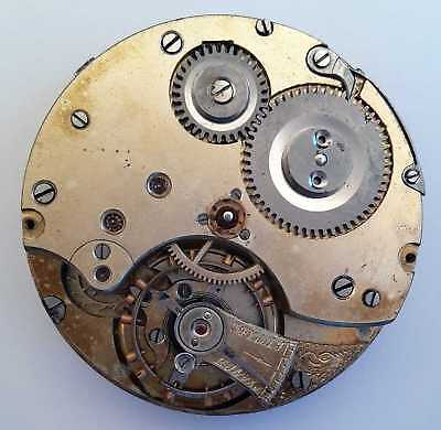 System Glashütte, Taschenuhrwerk 7, pocket watch movement