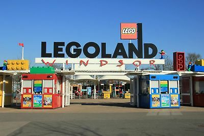 2 x LEGOLAND Windsor tickets  Sunday 24th June, 24/06/2018, save a  fortune