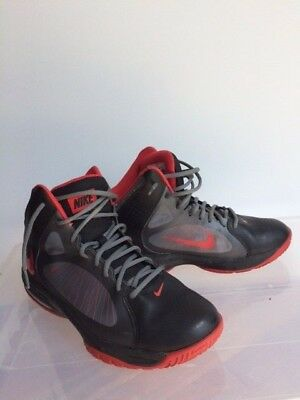 save off ab551 2fbf7 ... Nike Air Max Actualizer II Flywire Basketball Men s Shoes Sz 8.5 Red  Gray Black ...