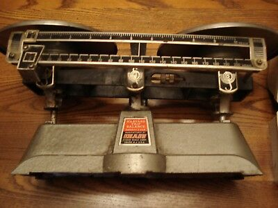 Ohaus Double Pan Balance Scale And Weights