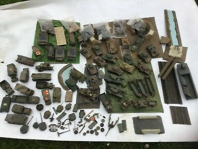 AIRFIX MASSIVE JOB LOT OF HO/OO SOLDIERS & VEHICLE COLLECTION VINTAGE 70s .???