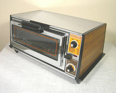 Vintage GE GENERAL ELECTRIC A10T26 Toaster Toast-R-Oven (70s) Tested:WORKS WELL!