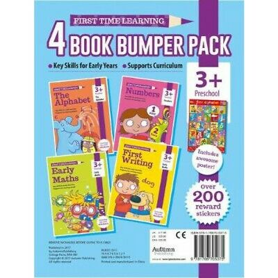 First Writing, Early Maths, Numbers - NEW Workbooks Pre School Kids Age 3+