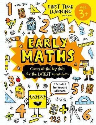 Learn Early Maths Activity Workbook  NEW Edition Pre School Kids Age 3+