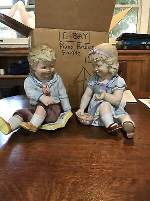 Piano Babies - Pair From Germany