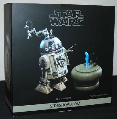 Star Wars R2-D2 Deluxe Sixth Scale 1/6 Sideshow Exclusive Figure Brand New