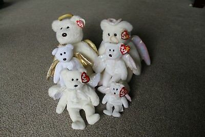 TY Beanie Baby - ANGEL collection, Halo, Halo II, Herald