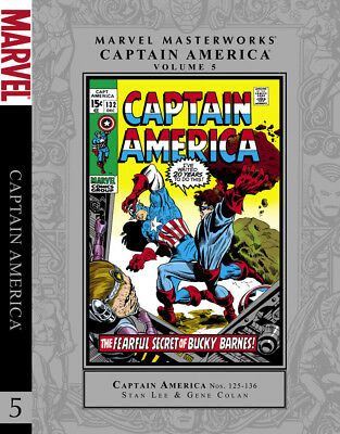 Marvel Masterworks Captain America Volume 5 HC unread - 1st printing