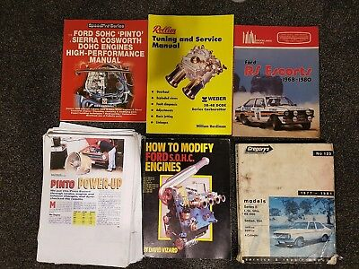 ford Pinto and escort rs books