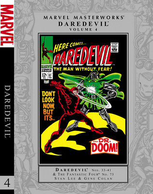 Marvel Masterworks DAREDEVIL Volume 4 HC unread - 1st printing