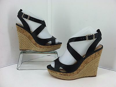 89dd3220cb61 WOMEN S 9.5 M Black Wedge Heels Charles by Charles David  q -  9.09 ...