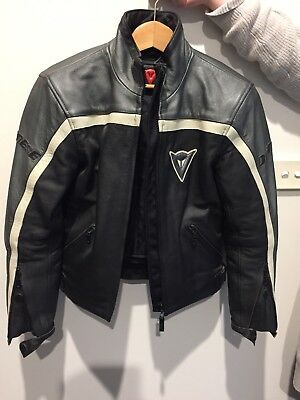 Dainese Womens 100% Leather Motor Cycle Jacket
