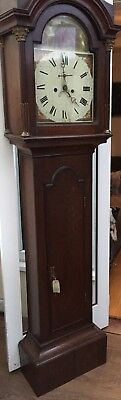 Longcase Painted Face 8 Day Clock