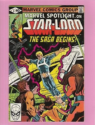 Marvel Spotlight #6 on Star-Lord 1st app and origin Peter Quill