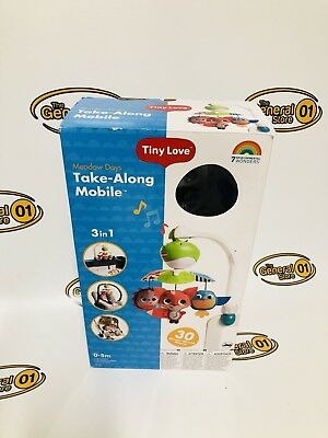 Tiny Love Take Along Mobile, Animal Friends, Blue *New/Open box*
