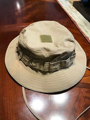 Crye Precision Rare Old Gen 1 Vintage Sand Color, Boonie Hat, Size 7 1/2  socom