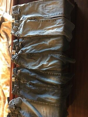 Lot (4) children's Place size 6 boys jeans with adjustable waist– good condition