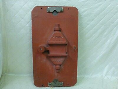 Wood Foundry Mold Sierra Gate Valve Top Model Pattern Steampunk Industrial Fire