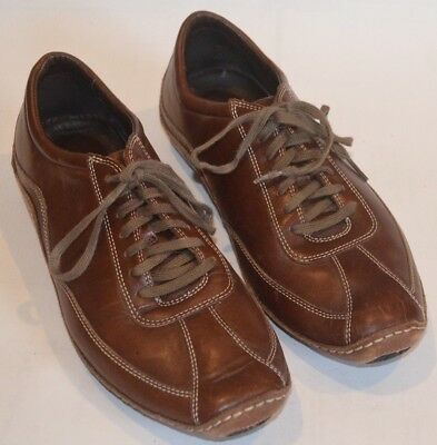 Cole Haan Shoes Men's Nike Air Lace Up 9.5 Brown - EXCELLENT Inside & Out!