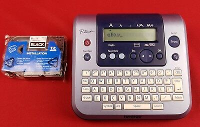 Brother P-Touch PT-1280 Labeler Electronic Label Maker w/ Ribbon