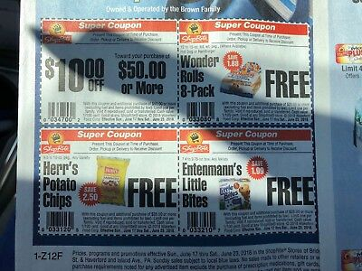 Shoprite Super Saver Ad - 4 Sheets