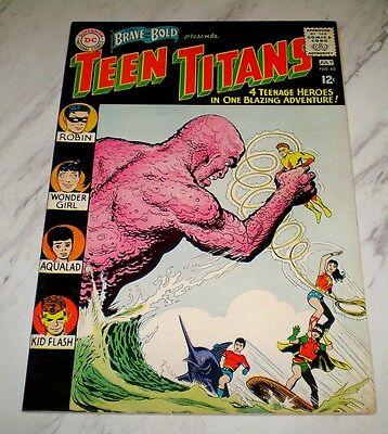 Brave and the Bold #60 NM 9.4 OW pages 1965 DC Teen Titans 1st New Wonder Girl