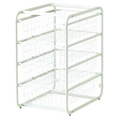 Closet Organisers, Wire Drawers, Storage, Ikea Metal Frame With 4 Wire Drawers