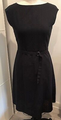 91ad61bf85 LINEN DRESS UNIQLO Black NWT Size M -  38.00