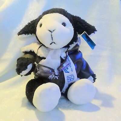 BORN Aviation Airzoo Pappy the Black Sheep Plush Toy