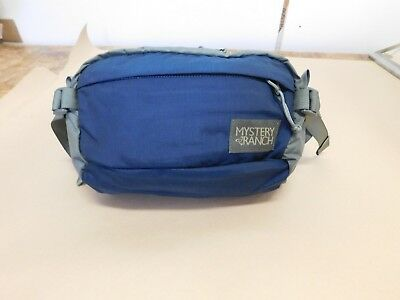 Waist pack - Full Moon - blue and grey