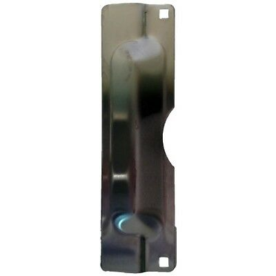 Don-Jo LP-211-EBF 12 Gauge Steel Latch Protector with Fasteners, Dura coated, 3&