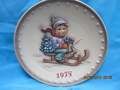 "Set of 4 Annual Hummel Plates ""1975, 1976, 1977 & 1978""  without boxes"