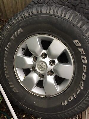 Toyota Hilux 4 x Mag Wheels with All Terrain Tyres