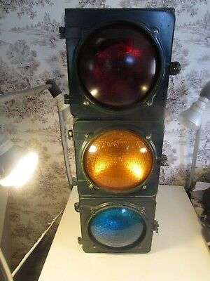Ready to be restored Crouse Hind Traffic Light in fair condition.