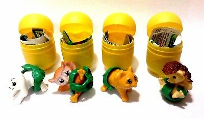 Kinder Surprise Toys Complete Set Jungle Baby Sd054 Sd097 Sd096 Sd098