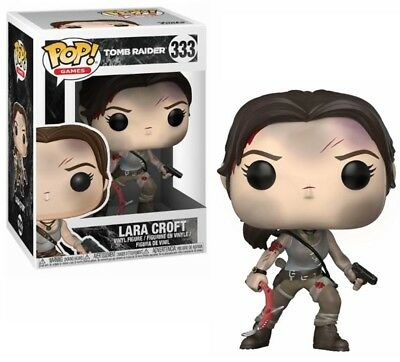 Funko POP! Movies Tomb Raider (2018) - LARA CROFT  10cm Vinyl Figur OVP