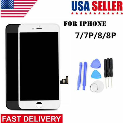 iPhone 8 Plus LCD AAA+ Display Touch Screen Replacement with Home button Camera